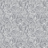 Floral abstract seamlles pattern Royalty Free Stock Image