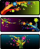 Floral abstract vector Stock Images
