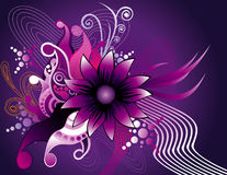 Floral abstract vector Stock Photo