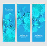 Floral Abstract website headers Stock Image