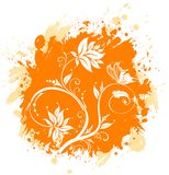 Floral abstraction Royalty Free Stock Photos