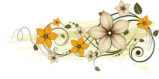 Floral abstraction. Royalty Free Stock Photography