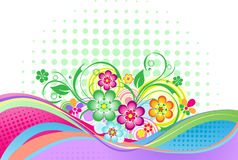 Floral abstraction for design Royalty Free Stock Photography