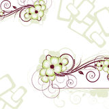Floral Abstraction. Vector Illustration For Desig Stock Photography