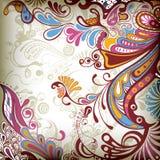 Floral abstracto ilustración del vector