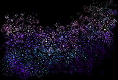 Floral abstrait. Images libres de droits