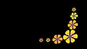 Floral animado stock de ilustración