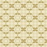Floral antique seamless pattern Stock Photography