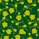 Floral antique seamless pattern Royalty Free Stock Photo