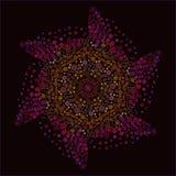 Abstract, pattern, fractal, blue, flower, illustration, pink, mandala, graphic, decorative, purple, digital, christmas, green, psy stock illustration