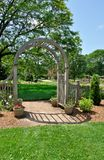 Floral Arch Royalty Free Stock Image