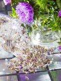 Floral aromatic potpourri Stock Image