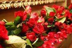 Floral arrangement 2. Red roses floral arrangement Stock Photos
