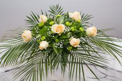 Floral arrangement. For the festive table Stock Photography