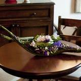 Floral arrangements for a banquet Stock Image