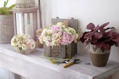 Floral arrangements Royalty Free Stock Photo