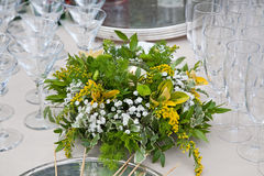 Floral arrangements Royalty Free Stock Photography