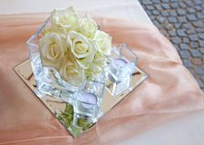Floral arrangements for wedding Royalty Free Stock Photography