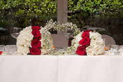 Floral arrangements for wedding Royalty Free Stock Images
