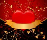 Floral artistic design background. Illustration royalty free illustration