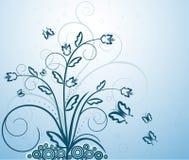 Floral artistic design background. Floral artistic design vector background royalty free illustration