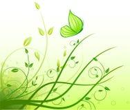 Floral  artistic design background Stock Image