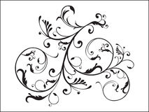 Floral with artistic illustration. Floral with artistic vector illustration with natural curve Vector Illustration