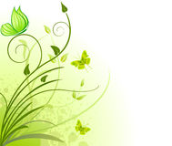 Free Floral Artistic Vector Design Royalty Free Stock Photo - 5497595