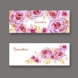 Floral atractivo elegante en colores pastel en el fondo blanco Fotos de archivo