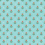 Floral baby wallpaper. Vector EPS10. Stock Photography