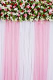 Floral backdrop Royalty Free Stock Photography