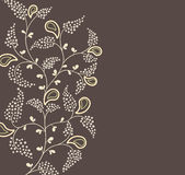 Floral backgrond. Vector illustration. floral ornament background Royalty Free Stock Photos