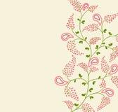 Floral backgrond. Vector illustration. floral ornament background Royalty Free Stock Image