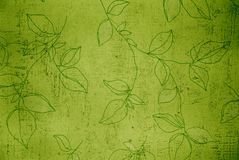 Floral background. Absract background floral wall texture stock illustration
