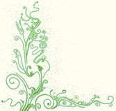 Floral background. Light green abstract floral background Royalty Free Stock Images