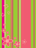 Floral background. Vector illustration of an abstract floral background Stock Photos