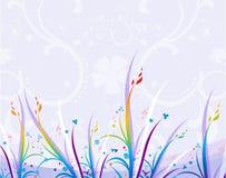 Floral background. Floral design Stock Photography