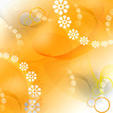 Floral background. Illustration of seamless floral pattern background Royalty Free Stock Image