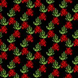 Floral background. (can be repeated and scaled in any size Royalty Free Stock Image