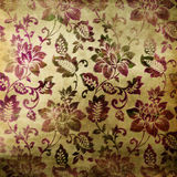 Floral background. Vintage floral background in oriental style Royalty Free Stock Image