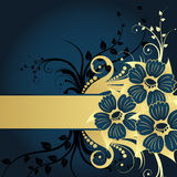 Floral background. For design use. Vector illustration Stock Image