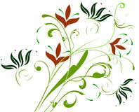 Floral Background. Abstract  illustration for design Stock Photography