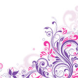 Floral background royalty free illustration