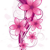 Floral background. For design use. Vector illustration Stock Images