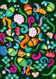 Floral background. Floral pattern design texture background Royalty Free Stock Photo