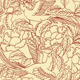 Floral background. Beautiful  illustration Royalty Free Stock Image