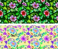 Floral background. A fine Chinese floral background Royalty Free Stock Image