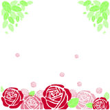 Floral Background. Can use on letters, cards, web site etc Royalty Free Stock Images