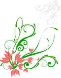 Floral Background. Abstract floral illustration for design Royalty Free Stock Photos