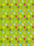 Floral background. Green floral background Vector Graphics Royalty Free Stock Photography